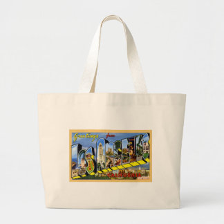 Greetings from Los Angeles California Large Tote Bag