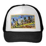 Greetings from Los Angeles California Trucker Hat