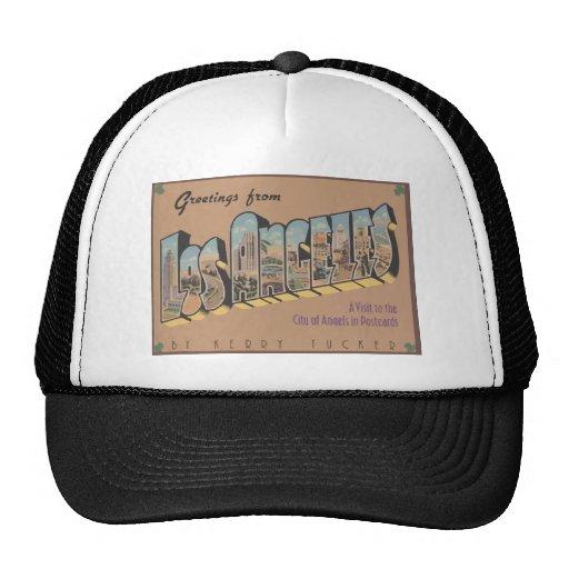 Greetings From Los Angeles, Vintage Trucker Hat
