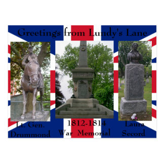 Greetings from Lundy's Lane - Customized Post Card
