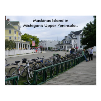 Greetings From Mackinac Island.. Postcard