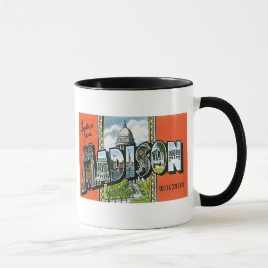 Greetings from Madison, Wisconsin! Mug
