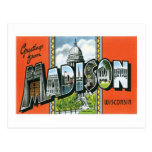 Greetings from Madison, Wisconsin Postcard