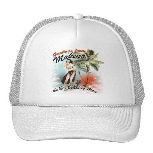 greetings from makena mesh hat