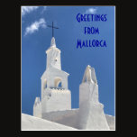 Greetings from Mallorca Postcard