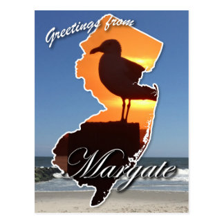 Greetings from Margate Postcard
