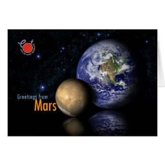 Greetings from Mars Cards