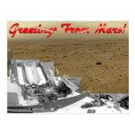 Greetings From Mars! Postcard