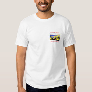 """""""Greetings From McGraws"""" T-shirt"""