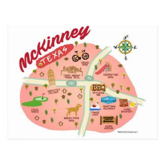 Greetings from McKinney Postcard