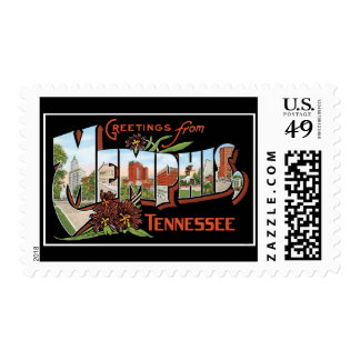 Greetings from Memphis Tennessee Postage