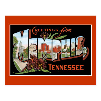 Greetings from Memphis, Tennessee Postcard