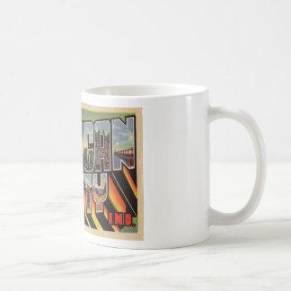 Greetings from Michigan City Indiana Coffee Mug