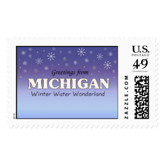Greetings from Michigan Postage