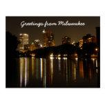 Greetings from Milwaukee Postcard