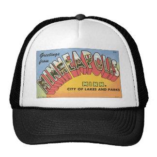 Greetings From Minneapolis Minn., Vintage Trucker Hat