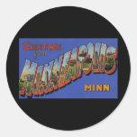 Greetings from Minneapolis Minnesota Stickers