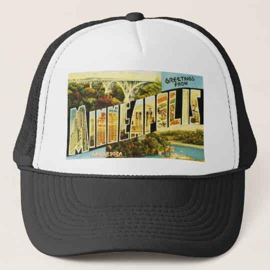 Greetings from Minneapolis Minnesota Trucker Hat