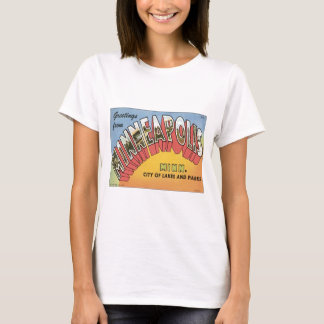 Greetings From Minneapolis T-Shirt