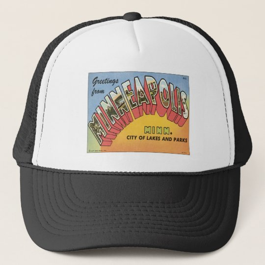 Greetings From Minneapolis Trucker Hat