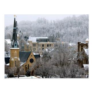 Greetings From Minnesnowta! Postcard