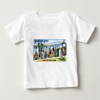 Greetings from Minnesota! Baby T-Shirt