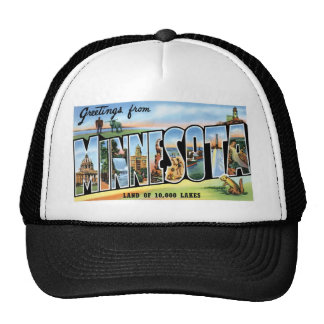 Greetings from Minnesota! Trucker Hat