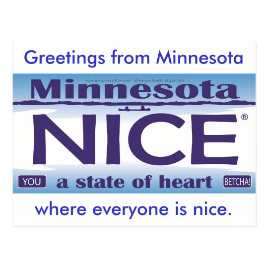 Greetings from Minnesota NIce Postcard