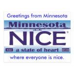 Greetings from Minnesota NIce Postcards