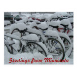 minnesota, greetings, snow, snowed, bikes,