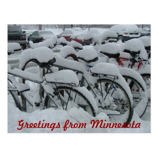 Greetings from Minnesota Post Card