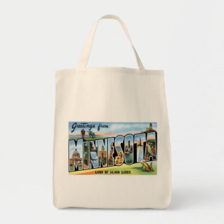Greetings from Minnesota Tote Bag