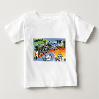 Greetings from Mississippi! Baby T-Shirt