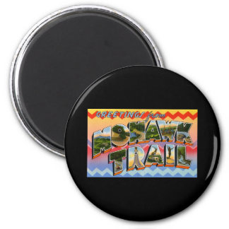 Greetings from Mohawk Trail Refrigerator Magnets