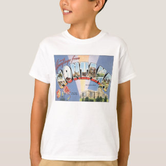 Greetings From Montana T-Shirt
