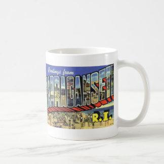 Greetings from Narragansett RI Coffee Mug