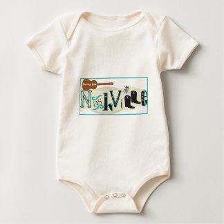 Greetings from Nashville Retro Baby Bodysuit