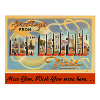 Greetings from New Bedford Post Cards