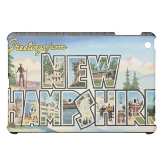 Greetings From New Hampshire Vintage iPad Mini Case