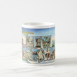 Greetings from New Hampshire_Vintage Travel Coffee Mug