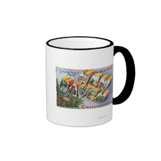 Greetings From New Haven, CT Coffee Mug