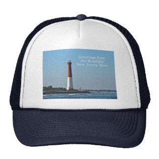 Greetings From New Jersey - Barnegat Light Trucker Hats