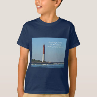 Greetings From New Jersey - Barnegat Light T-Shirt