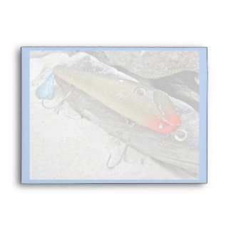 Greetings From New Jersey Fishing Lure Envelope