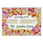 Greetings from New Jersey Greeting Card