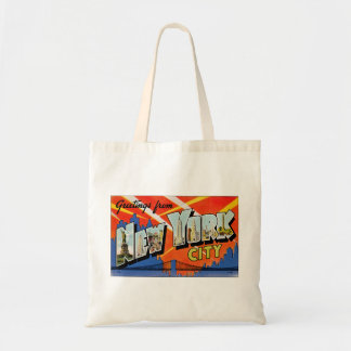 Greetings From New York City Tote Bag