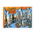 Greetings From New York City US City Postcard