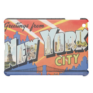 Greetings From New York City, Vintage Case For The iPad Mini