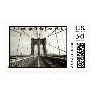Greetings from New York Postage