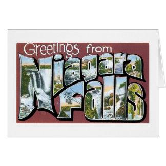 Greetings from Niagara Falls! Card